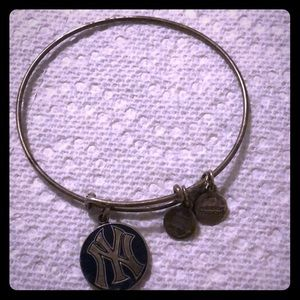 Alex and ani NYY Blue